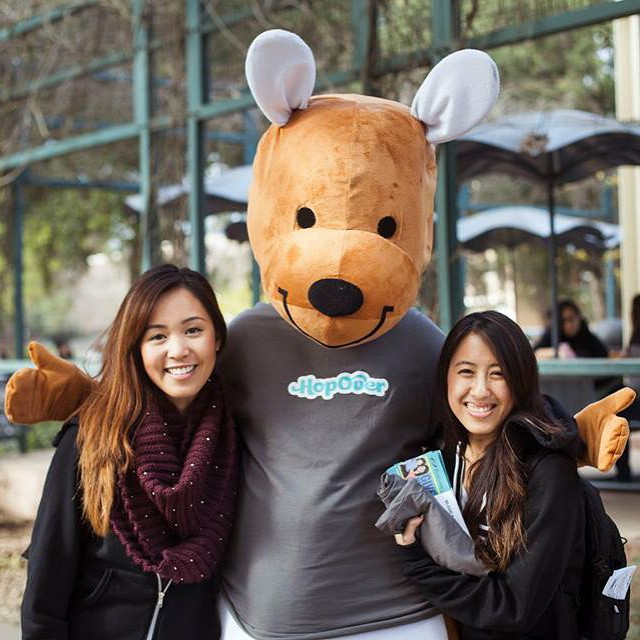 Sup UC Davis? Invite your friends! Get the most followers by 5 pm Friday and you'll win $100. #UCDavis #HopOver
