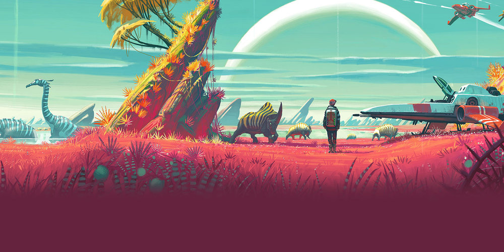 No Man's Sky Header
