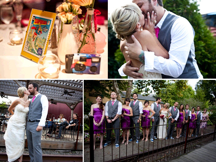 Funky Themed Wedding