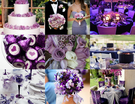 Color Themed Wedding