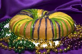 King Cake is a tradition that you can use as a grooms cake or create mini versions to hand out as favors to guest.