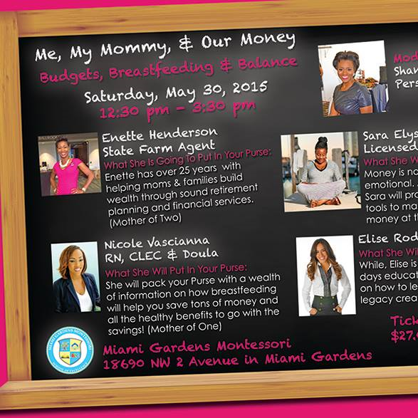 Me, My Money & Our Money Panelist