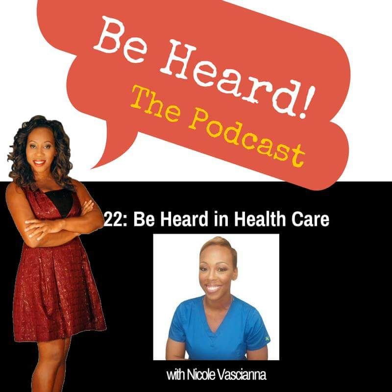 Nicole Vascianna Business Interview with Lisa Spark on the Be Heard Podcast