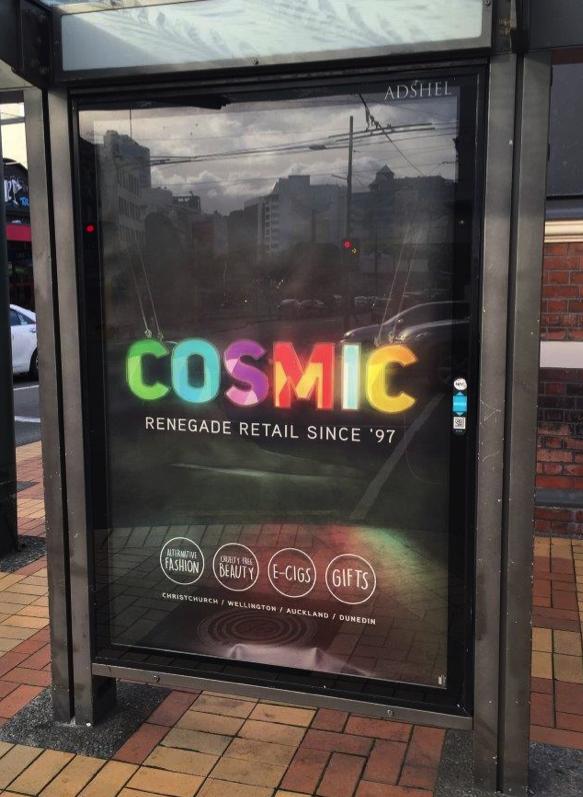 Cosmic Adshel