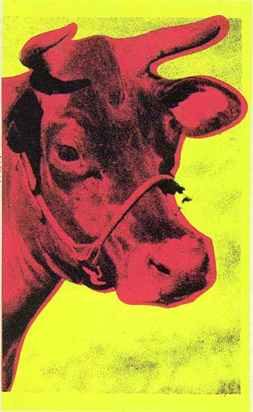 Cow by Andy Warhol, 1966