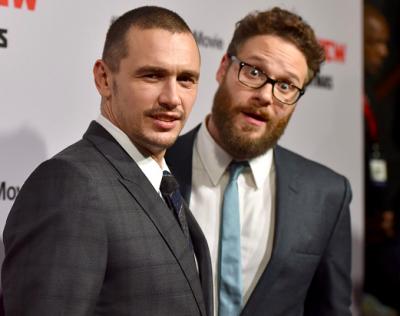 James Franco (left), Seth Rogen (right)