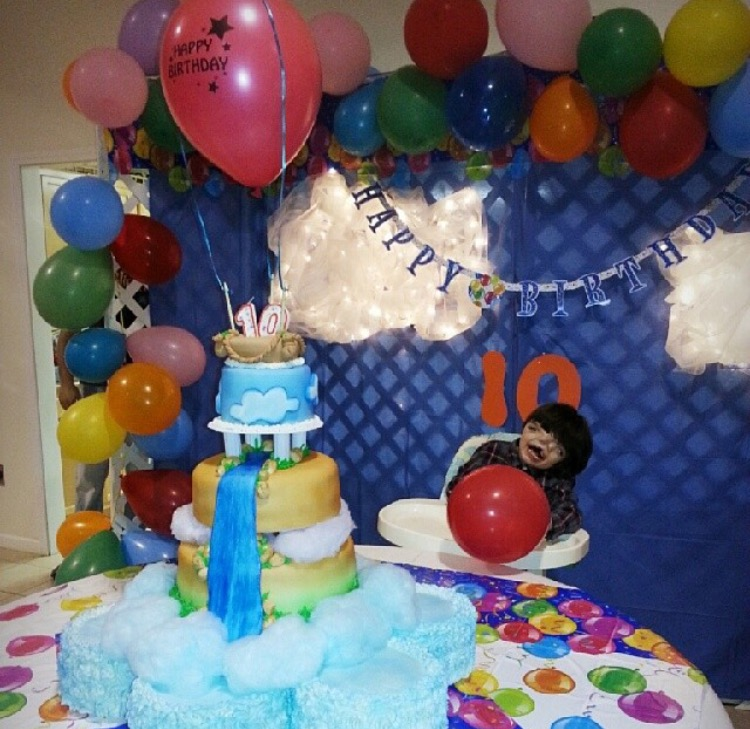 Tres' 10th Birthday