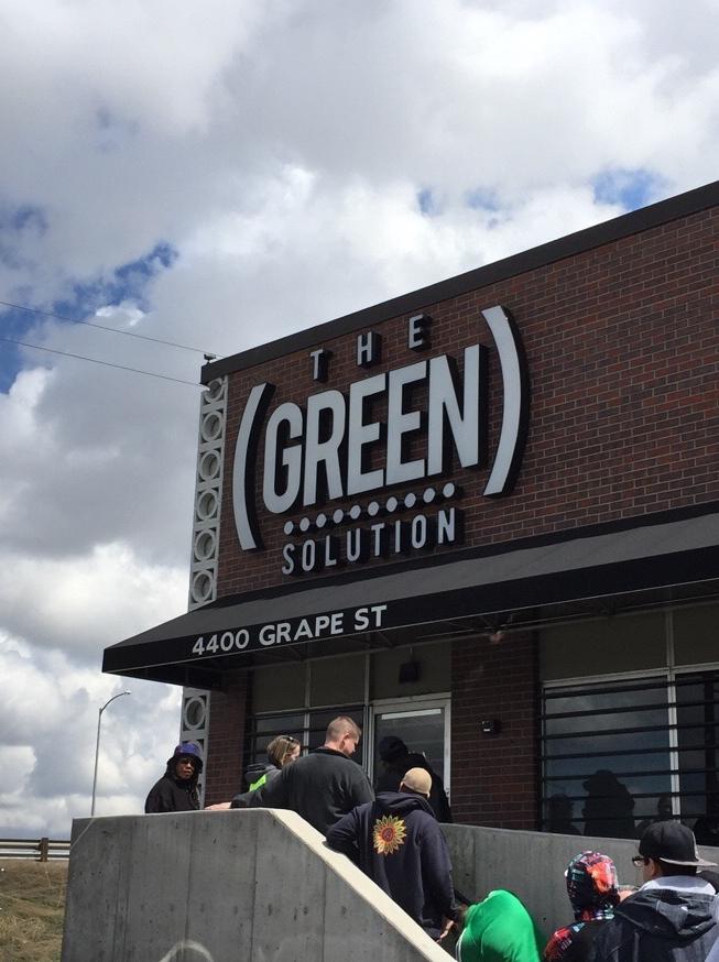 The Green Solution Denver, CO 4/18/2015