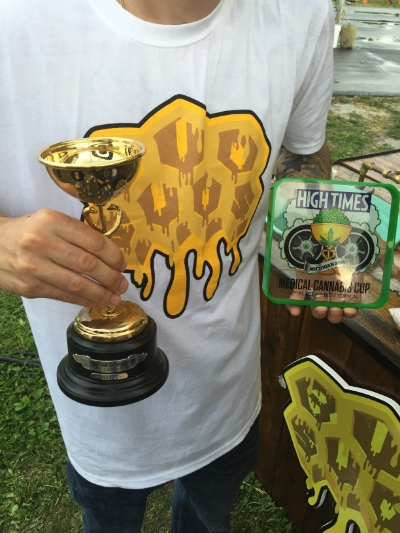 @BudSuds 1st & 2nd Place HighTimes Cannabis Cup Trophies