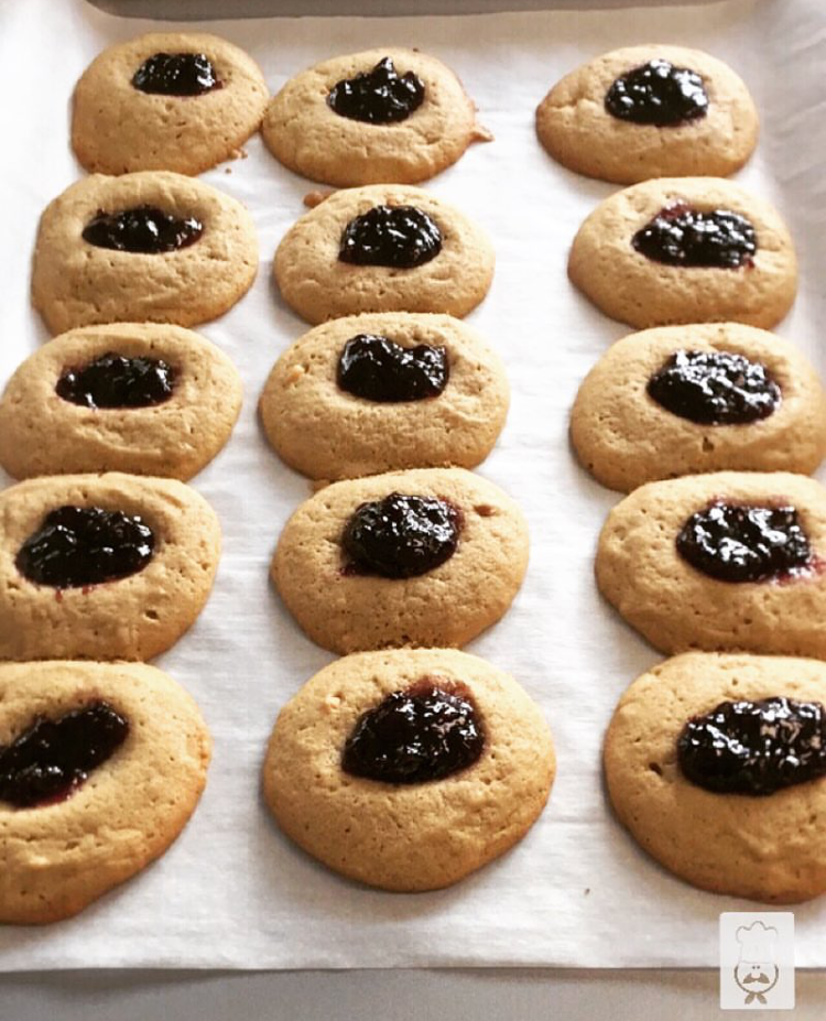 Peanut Butter & Jelly Canna-Cookies