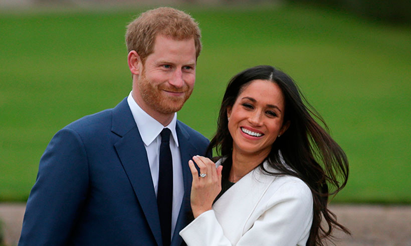 Prince Harry & fiancee Megan Markell