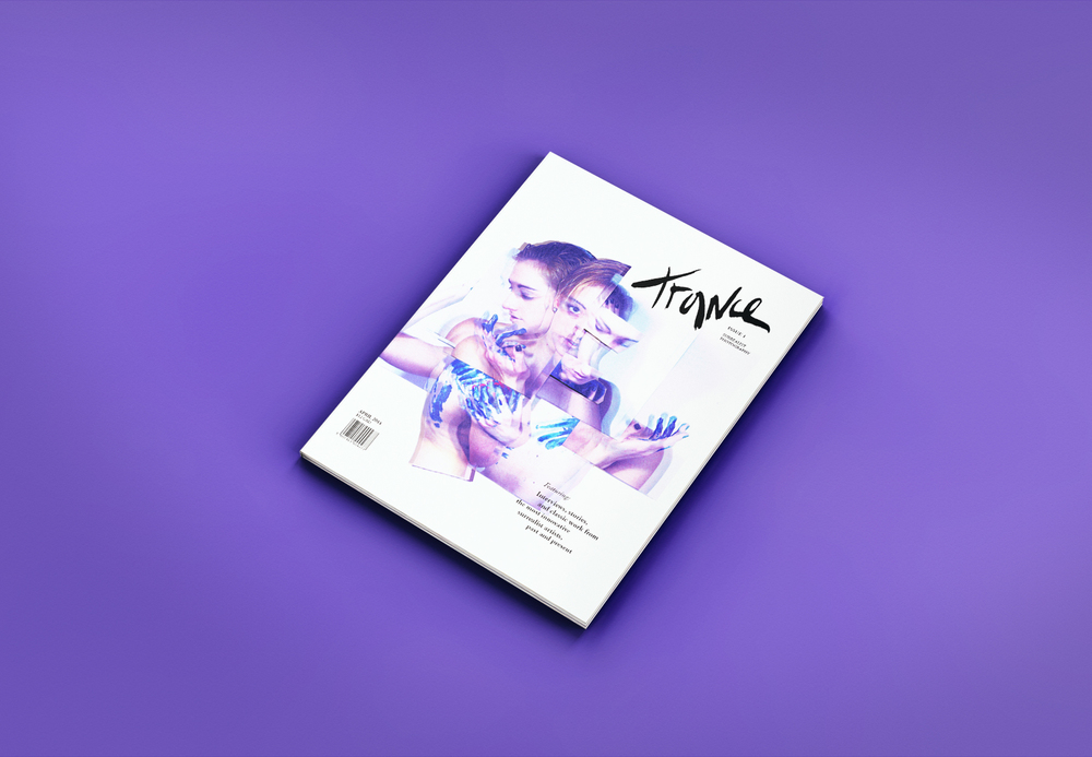 Trance // editorial, interactive, branding