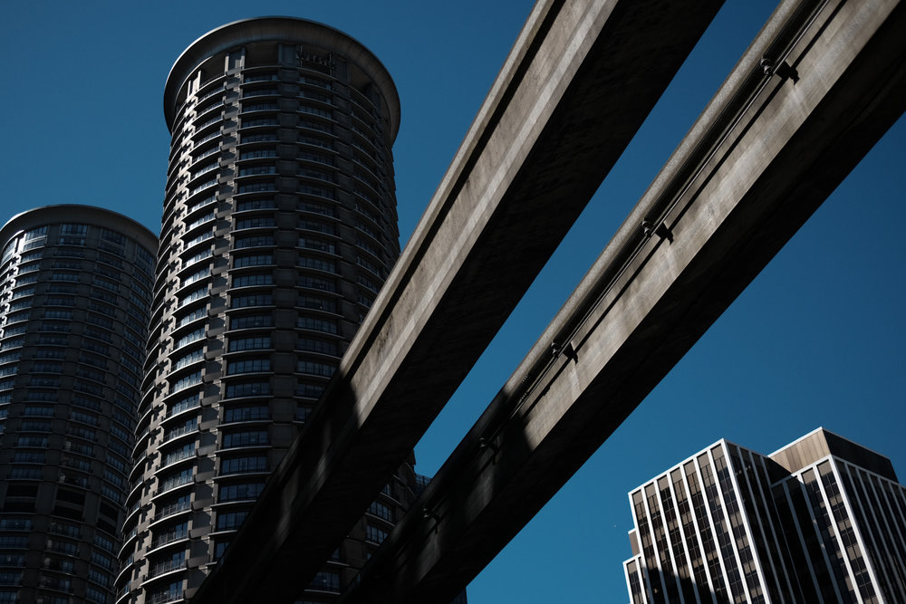 Downtown Seattle, USA.