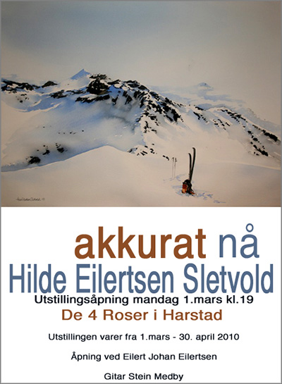 Plakaten til utstillingen.