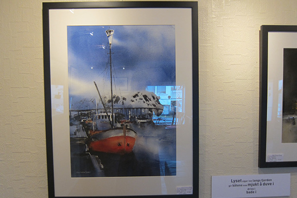"The painting ""Polar star""."