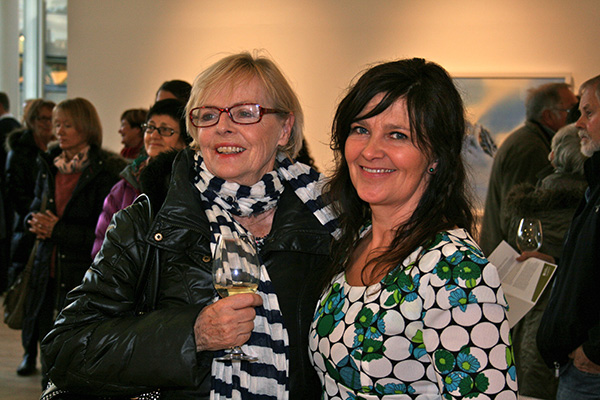 Hilde together with Berit Høvde Efraimsen.