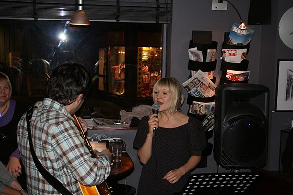 Ida Holten Worsøe og Stein Medby underholdt.