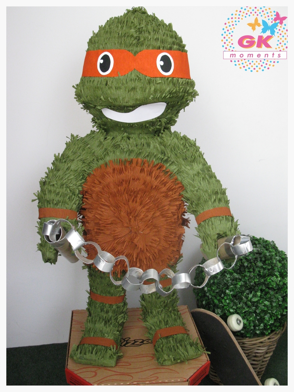 Turtles Piñata by GK Moments