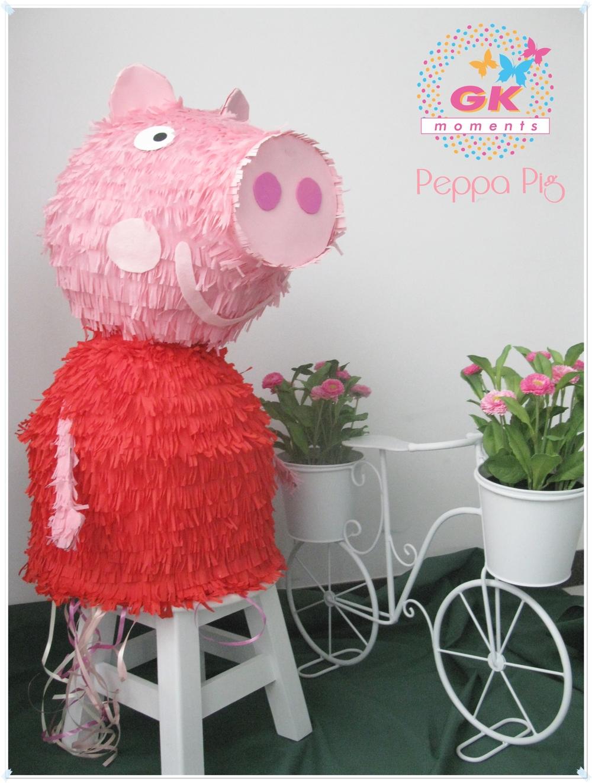 Peppa Pig Pinata by GK Moments
