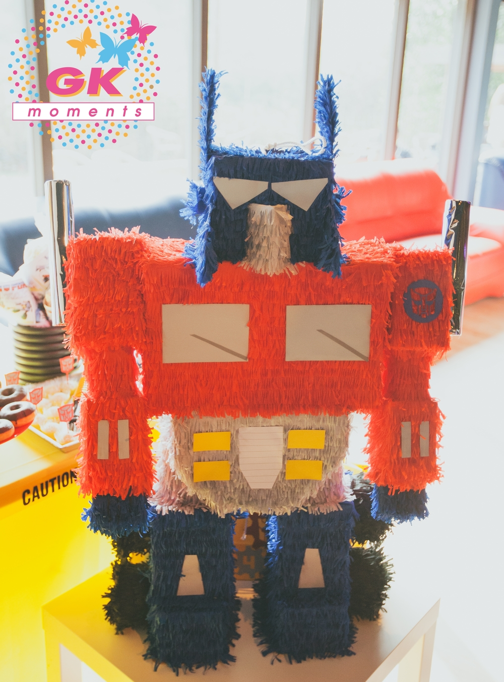 Optimus Prime Pinata by GK Moments