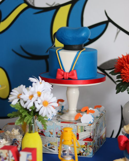 Gk Moments Donald Duck Birthday Themed Party