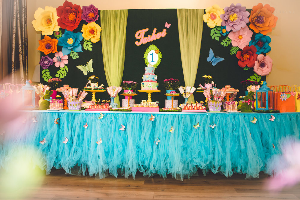 Garden and butterfly themed birthday party by GK Moments