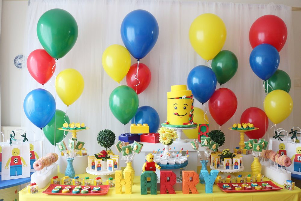 Lego happy themed birthday party by GK Moments