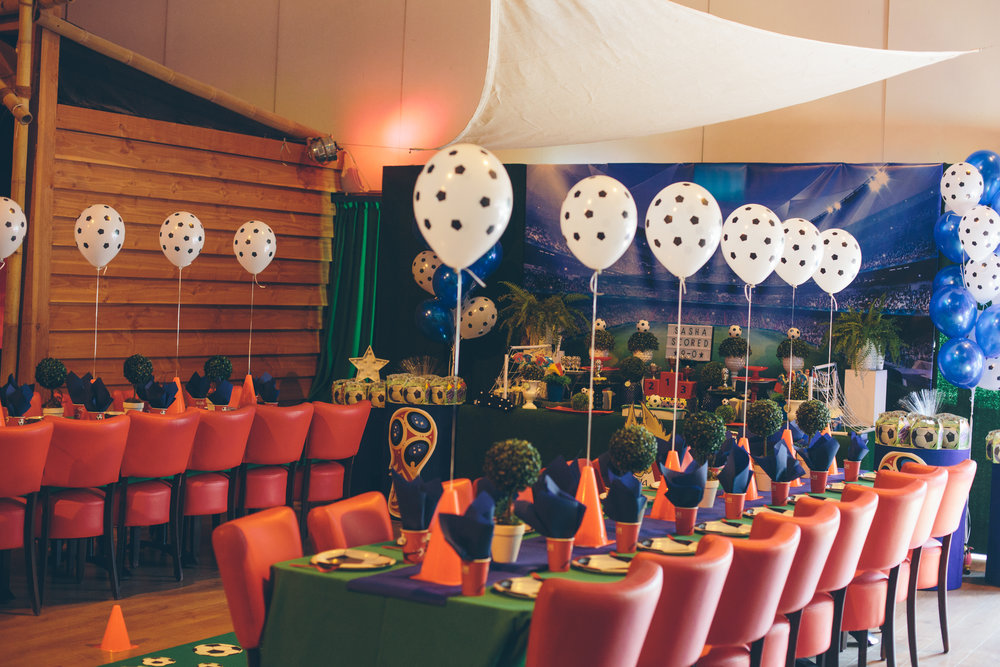 Fifa WK themed birthday party by GK Moments
