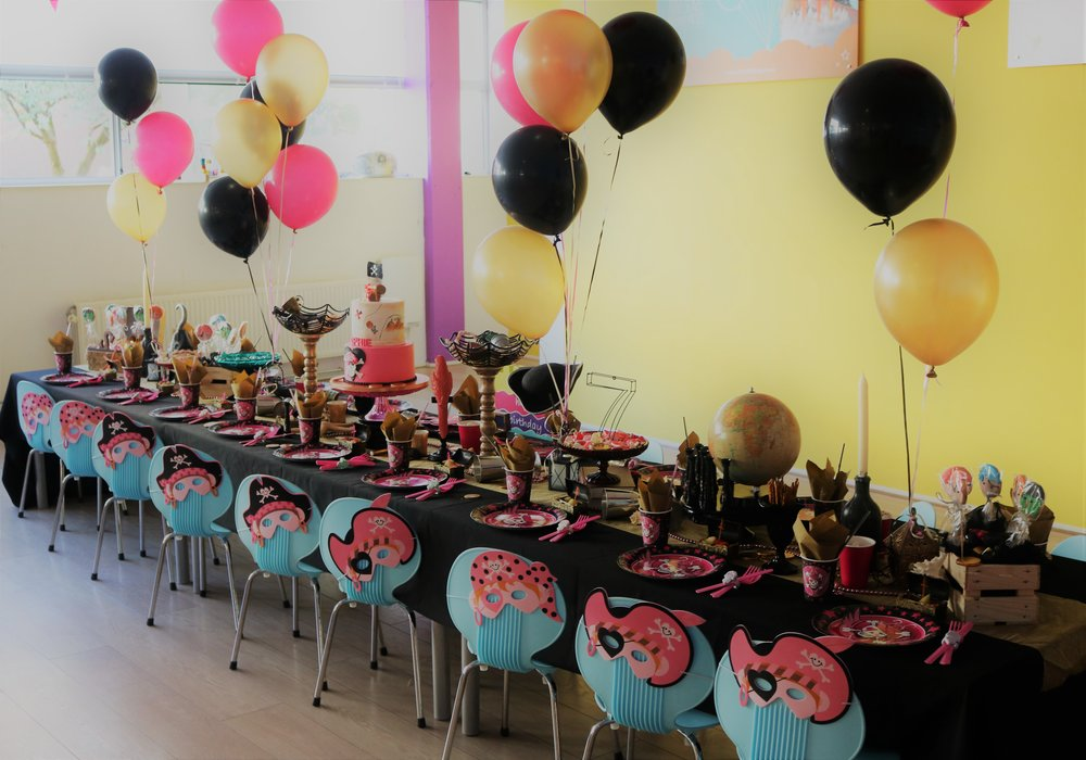 Pirate Girls party themed birthday party by GK Moments