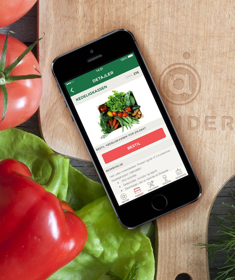 Aarstiderne Organic food at your fingertips Read case study