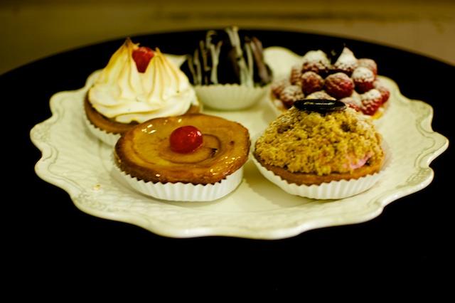 Tartaletas de dulce de leche /frambuesa/lemon-pie/Manzana/ Streusel de frambuesa