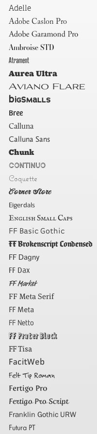 Adobe typekit fonts with Squarespace