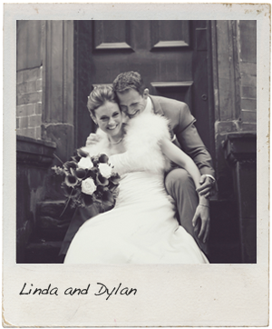 Linda and Dylan's wedding photographs at St. Ermins Hotel London