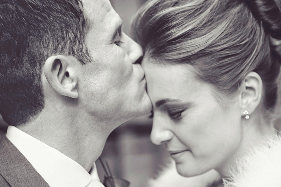 Alternative wedding photography at St. Ermins hotel London