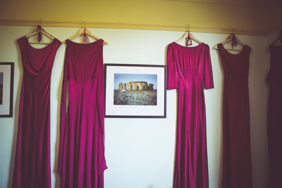 Bridesmaids dresses from Ghost