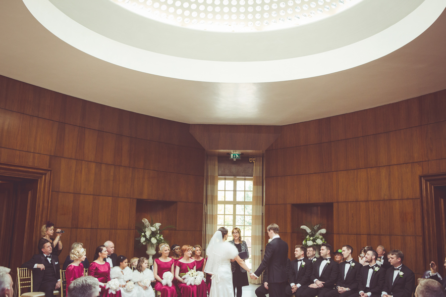 Wedding Ceremony at Eltham Palace
