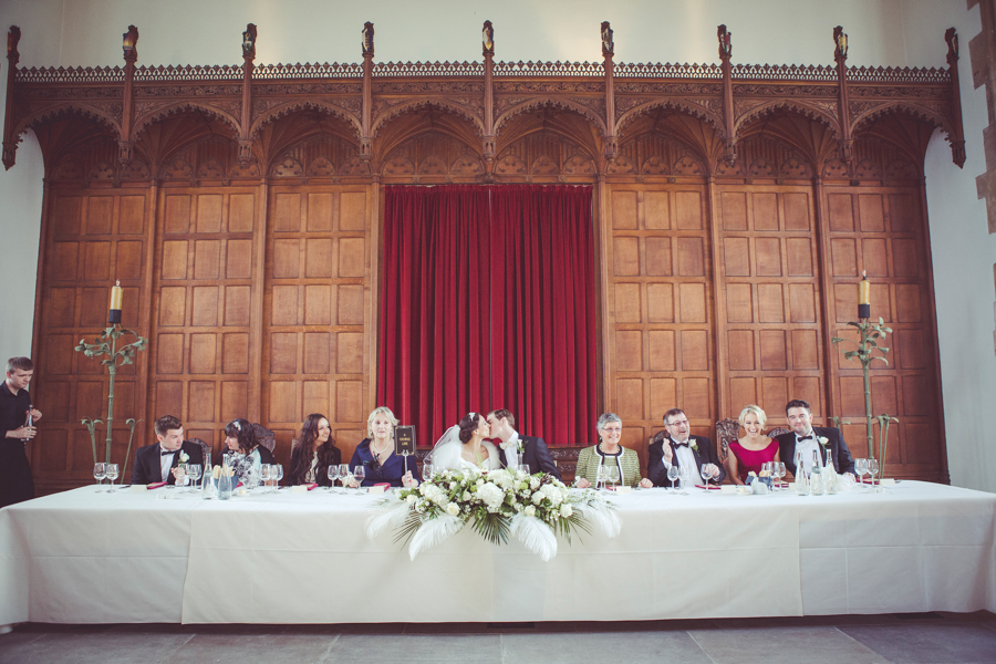 Top Table in the Great Hall at Eltham Palace