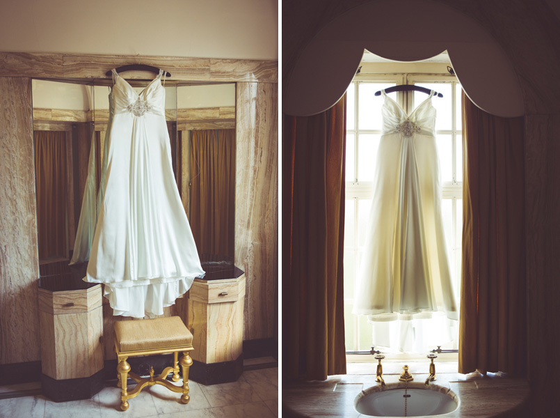 Maggie Sottero wedding dress at Eltham Palace