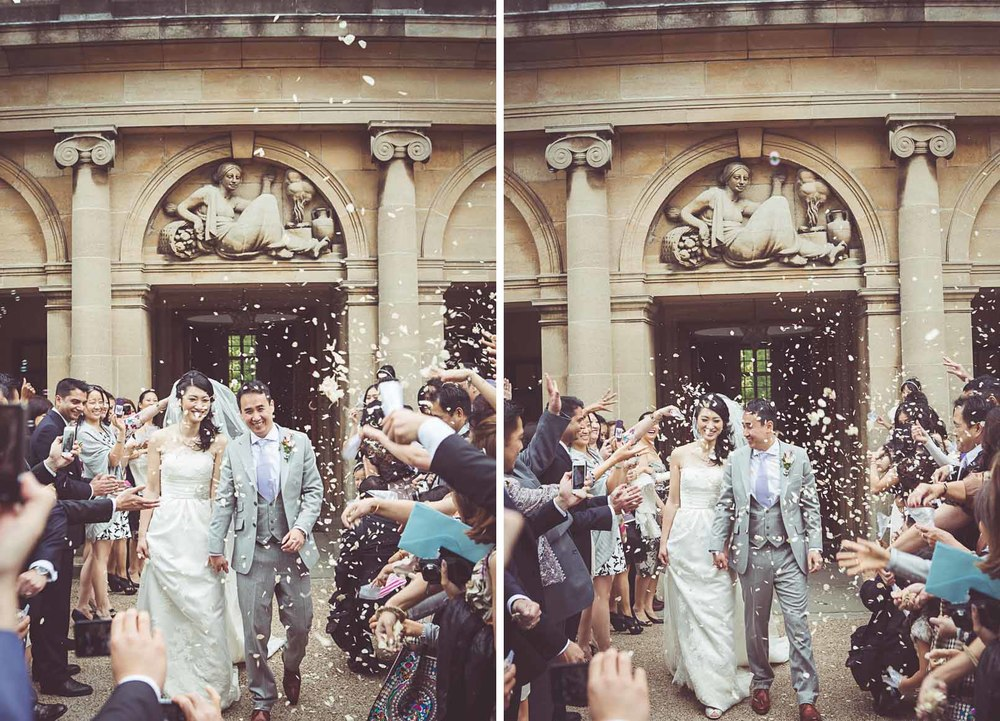 Spring wedding in London