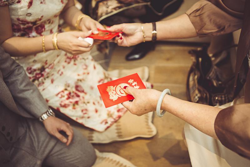 exchange of wedding gifts