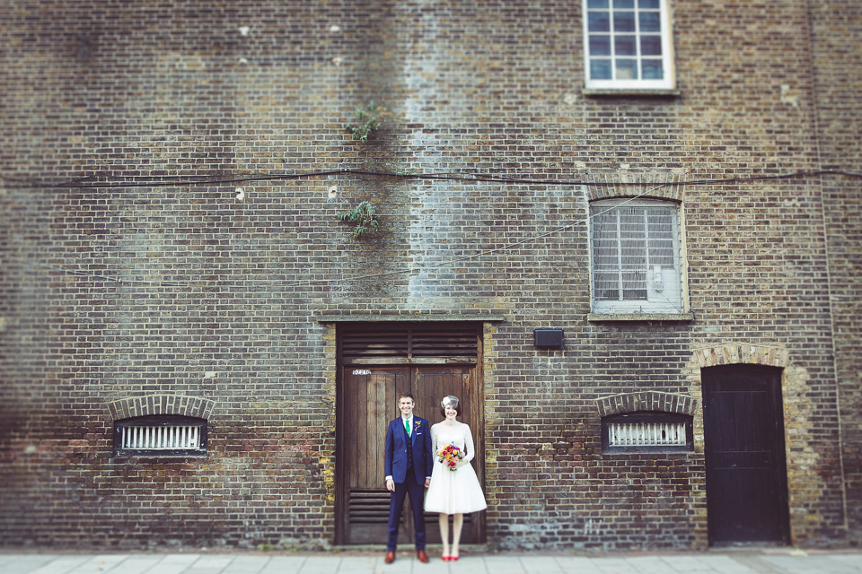 Dani and Mark get married at Wandsworth Town Hall