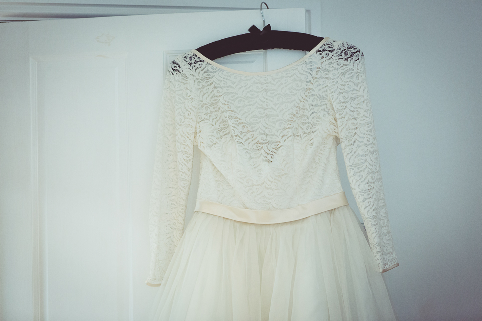 Dani's amazing wedding dress
