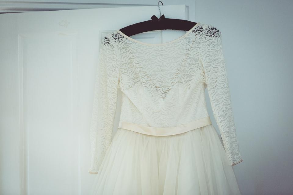 Dani's amazing wedding dress