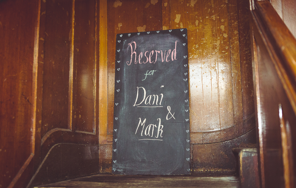 Dani and Mark get married at Balham Bowls Club