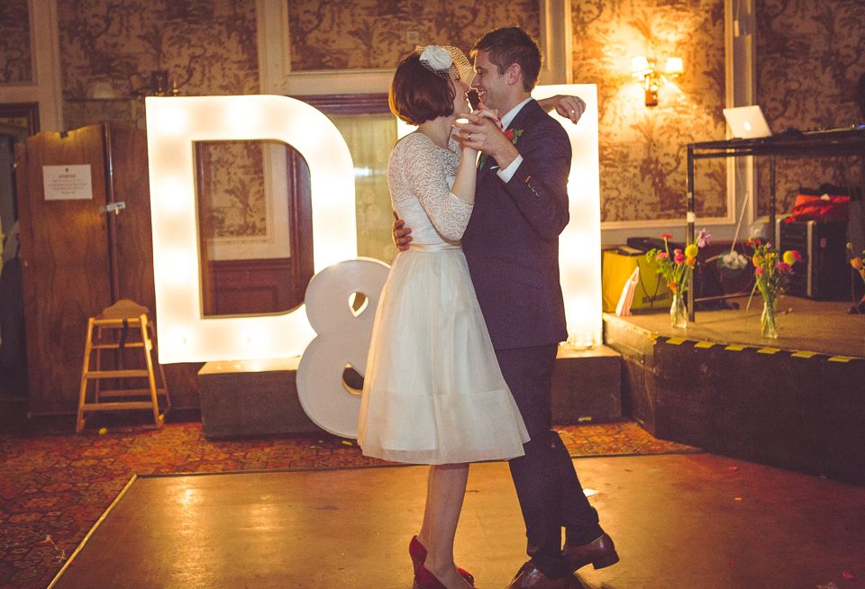 Dani and Mark's first dance