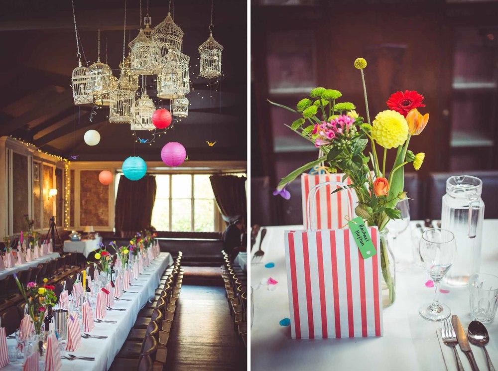 reception room at Balham Bowls Club