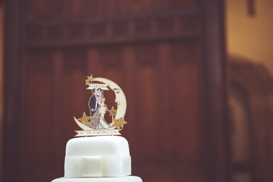 wedding cake at Eltham Palace