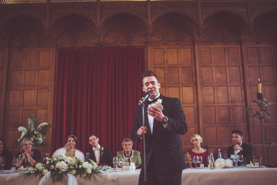 Best Man's speech at Eltham Palace