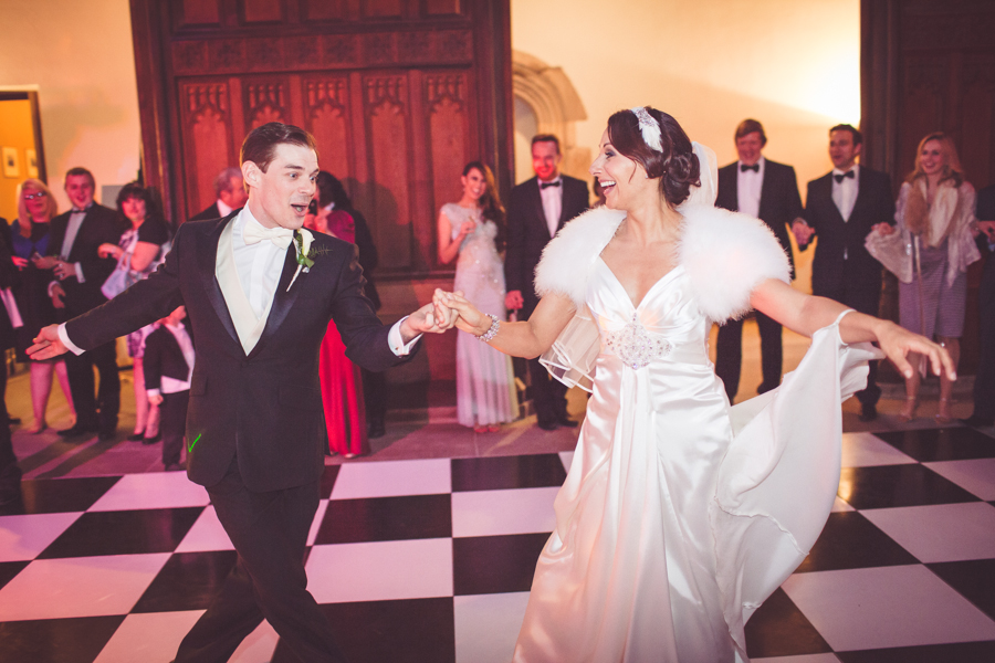 My Beautiful Bride photographs First dance at Eltham Palace