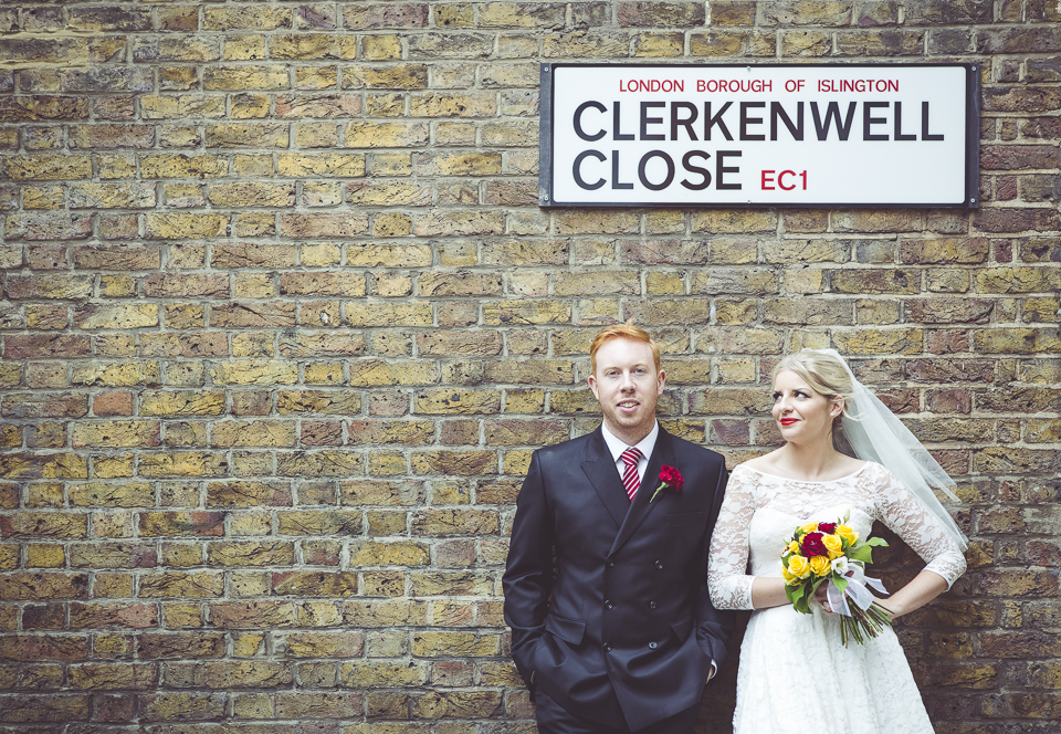 London wedding in Clerkenwell